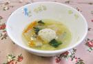 白菜と肉団子スープ