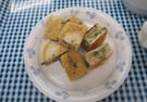 青菜いりホットケーキ(カミカミ期の離乳食)