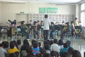 緑園中学吹奏楽部演奏会